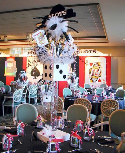 Birthday Party Entertainment Nj: Casino Nights Decor