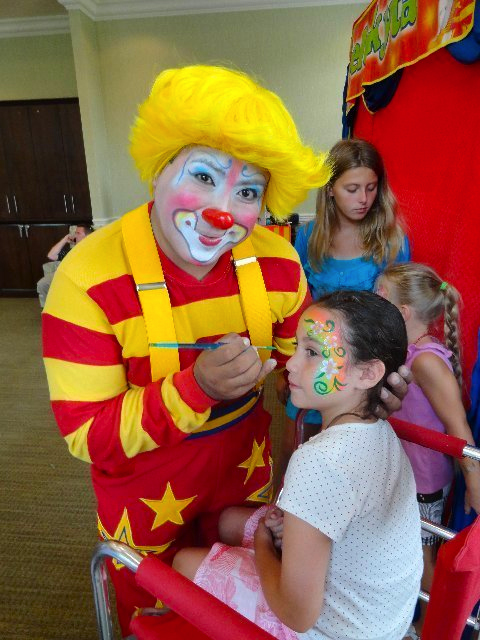 Face Painting Clowns