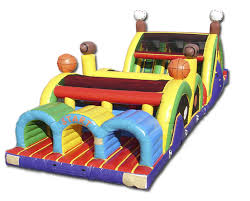 Sports Theme Obstacle Course