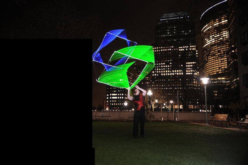 Led Cube Juggling