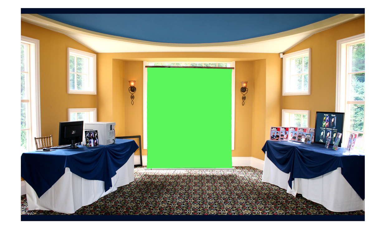 Photo Booth Green Screen 3