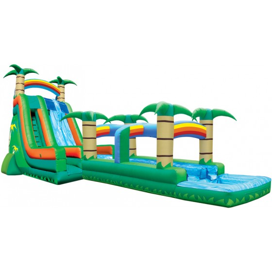 Tropical Extreme Water Slide combo