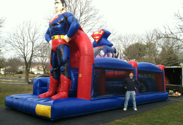 Superman Obstacle Course