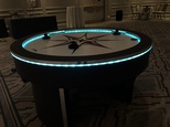 LED CIRCLE AIR HOCKEY