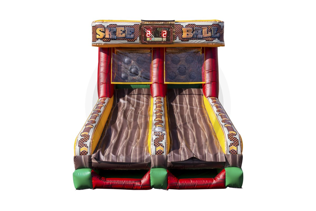 Skee Ball Inflatable Double