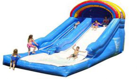 Large Backyard Waterslide