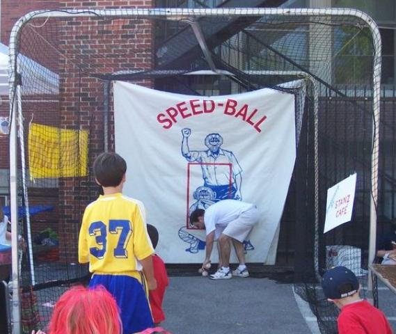 Baseball Speed Pitch Cage