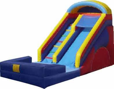 18 Foot Inflatable Wet Dry Slide