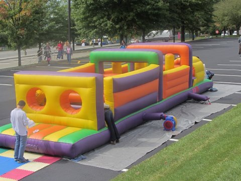 50 Foot Obstacle Course With Out Slide