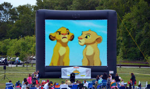 Movie Inflatable screens
