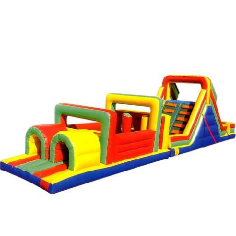 Multi Colored Obstacle Course