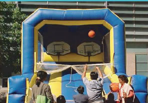 Basketball Inflata  Hoops