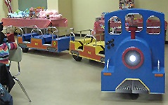 Trackless train junior